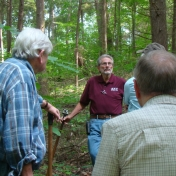 LCW Manager Sharing Information about the Lilley Cornett Woods