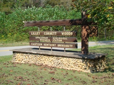Entrance to Lilley Cornett Woods