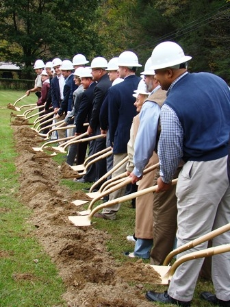 EKU Board of Regents Break Ground for New LCW Research Center