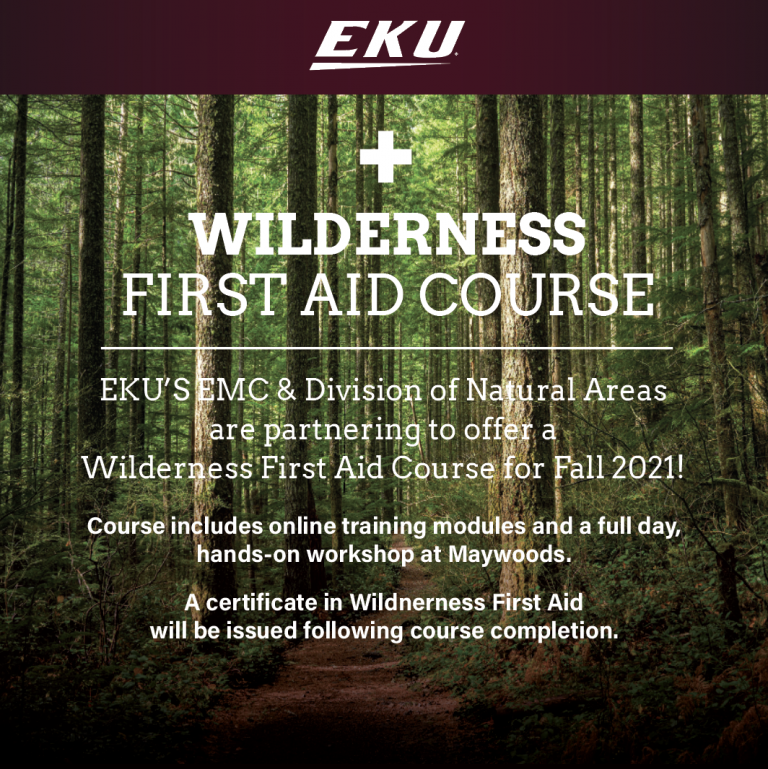 Wilderness First Aid Course EKU Division of Natural Areas