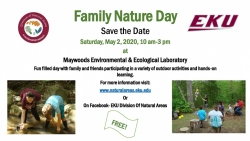 Family Nature Day - Save the Date Flyer