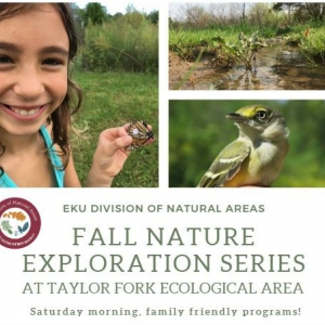 TFEA Fall Nature Explorations Flyer