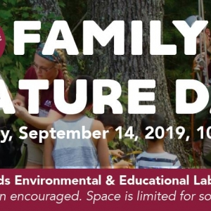 Family Nature Day Fall 2019