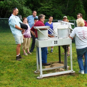 Demonstration of how the LCW Weather Station is used